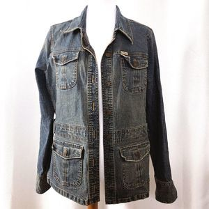 Levi's Womens XL Blue Denim Jacket